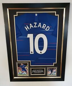 Image is loading EDEN-HAZARD-of-Chelsea-Signed-Shirt-Autographed-Jersey- 56dd45619