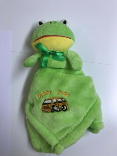 Diddy Dubs  Green Baby Comforter with Campervan
