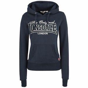 Hooded Navy Dark Lonsdale Sweatshirt Ladies Lyth Kapuzenpullover Blau Bxn4pH6Eqw