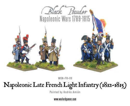Black Powder 302012001 Late French Light Infantry Napoleonic Wars NIB Waterloo