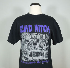 BLIND-WITCH-We-Sold-Our-Souls-For-Witch-Official-T-Shirt-sz-XL-RIP-Records-NEW