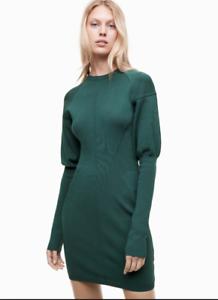 Talula Sculpted Knit Dress NWT