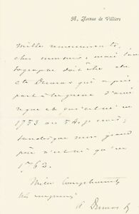Alexandre-DUMAS-Fils-Lettre-autographe-signee-a-propos-de-ses-aieux