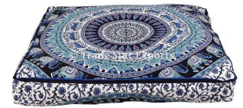 Indian Mandala Case Housse de Coussin Carré Décoratif méditation Throw Pillow Case