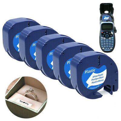 3x 91201 91221 kompatible Schriftbandkassette für Dymo LetraTag LT-100H XR QX50