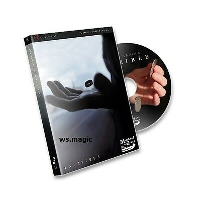 Invisible Flying Ring Damien Savina (DVD & REEL) Magic Trick Close Up Street T11