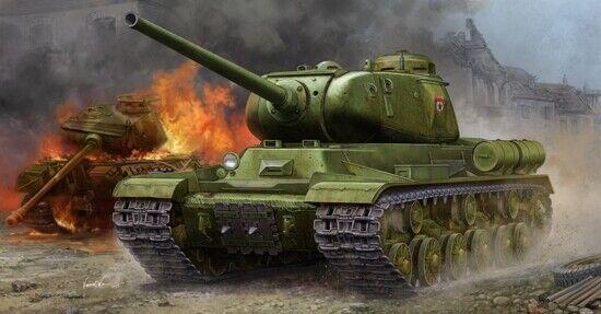 Soviet Js-1 Heavy Tank 1:35 Plastic Model Kit TRUMPETER