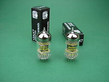 2 x 12AX7 EH / ECC83 Electro Harmonix neu Röhren / Tube new