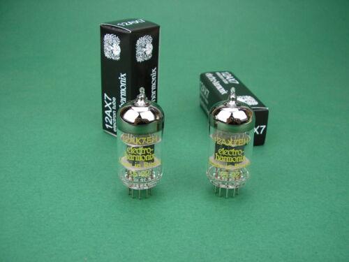 2 x 12AX7 EH Tube new ECC83 Electro Harmonix neu Röhren