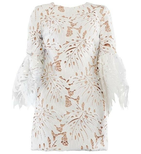 Dress The Population - - - Dylan Leaf Lace Sheath Dress - Size Small - New With Tags e72fc6