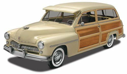 Revell '49 Mercury Woody Wagon Plastic Model Kit Car Station Wagon Vacation New