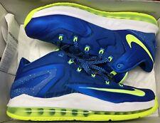 c2d0ce9e8b36 item 3 Nike Air Max Lebron XI 11 Low Sprite Hyper Cobalt Blue Volt White Sz  10 -Nike Air Max Lebron XI 11 Low Sprite Hyper Cobalt Blue Volt White Sz 10