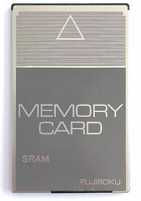 Automation, Antriebe & Motoren Fujisoku Memory Card Sram 1024 Kbyte Bs1024f1-c 38-pins