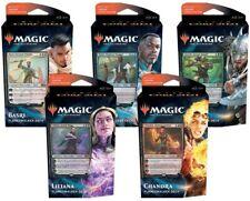 Magic Core Set 2021 Set of Planeswalker Decks Factory Sealed M21 (5 Decks)