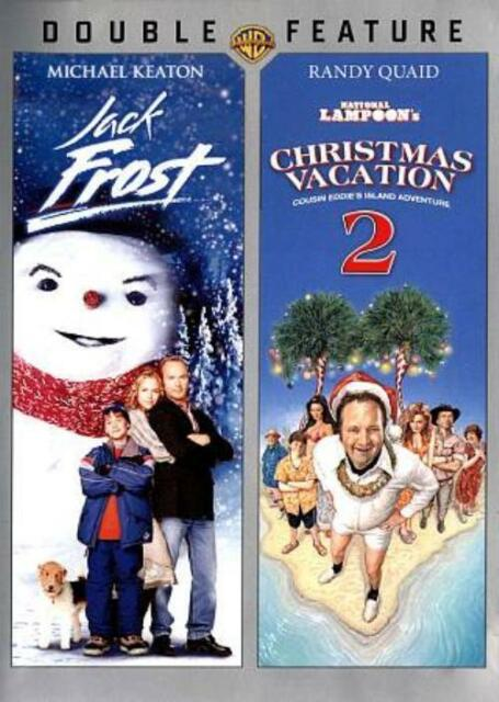 JACK FROST/NATIONAL LAMPOON'S CHRISTMAS VACATION 2 NEW DVD