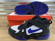 Nike Air Force Max CB 2 Hyperfuse Black Charles Barkley 616761 001 Men's Size 10