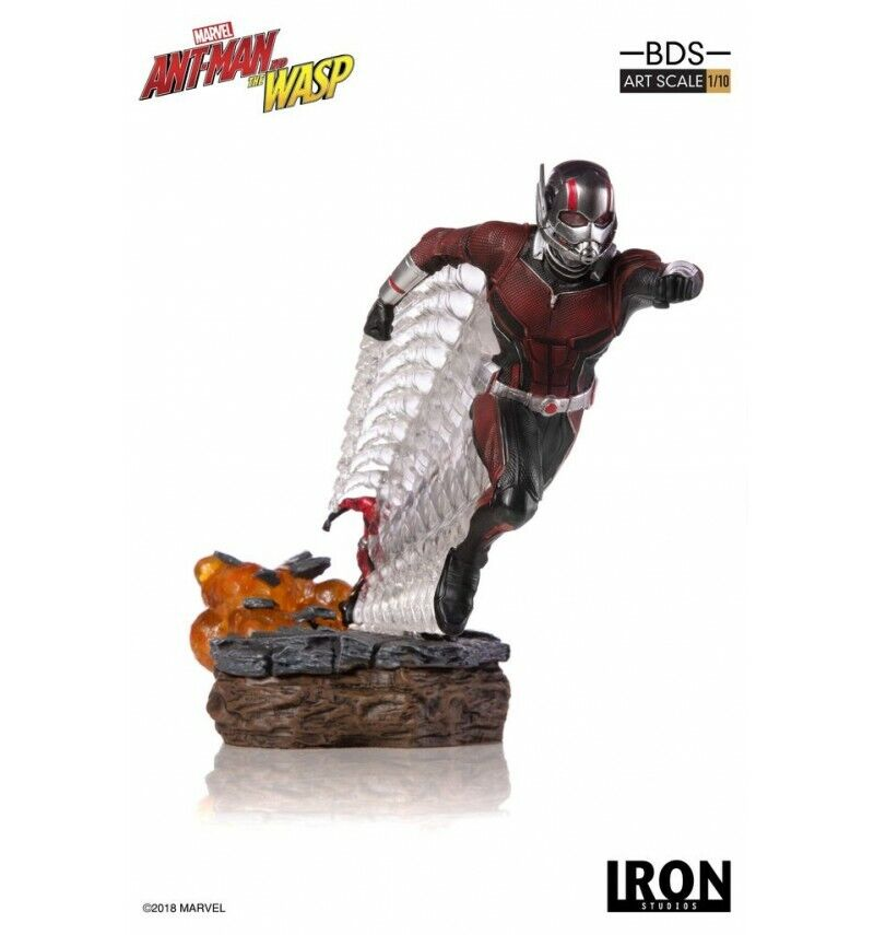 Iron Studios Statue Bdc Art Skala 1 10 - Ant Man & ; The Wasp - 17cm