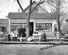 Photograph Vintage Midway Furniture / Resale Store Iowa 1936  8x10
