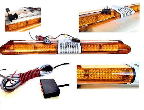 "LED Warning Light Bar Beacon Amber Recovery Strobe 24v 24 volt Fixed 1200mm 47/"""