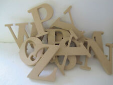 MDF LETTER A-Z Avaliable Large 155mm High 18mm Thick TIMES Font