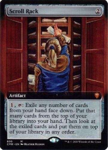 Extended Art Near Mint MTG Commander Legends Collector Scroll Rack 699