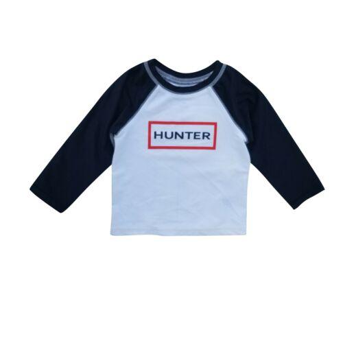 Hunter x Target Kid Rash Guard XS S M L Spellout Color Block Swim Gym LS UPF50+