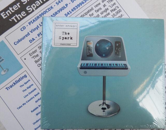 ENTER SHIKARI CD The Spark Digi-pack 11 Track Album + Promo Sheet NEW & SEALED