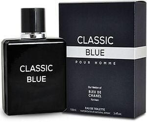 063d91b5e4b4 CLASSIC BLUE Men's Designer Impression EDT Cologne 3.4 oz Spray by ...