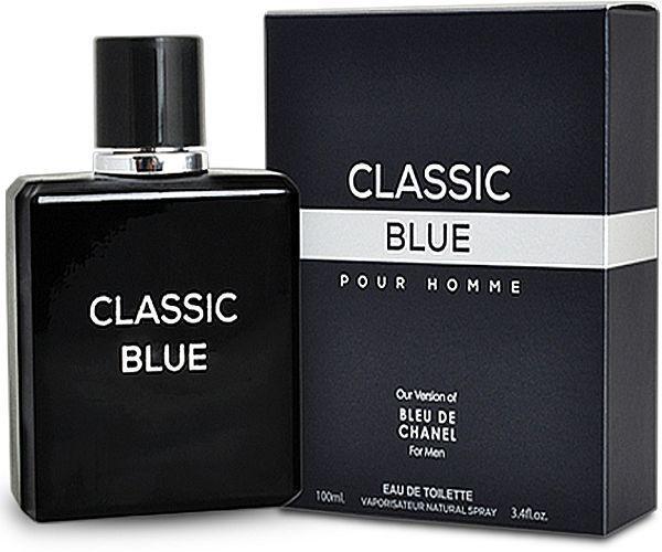 Classic Blue Pour Homme Inspired by Bleu De CHANEL Men s Cologne 3.4 FL Oz  for sale online  8089319ba0b1