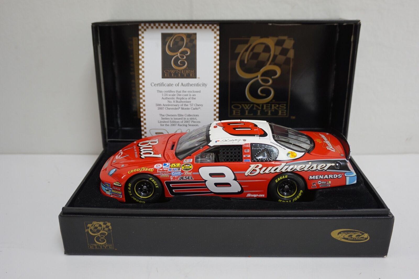 2007 RCCA Elite Diecast  Dale Earnhardt Jr '57 Chevy 50th Anniversary  0153 1008