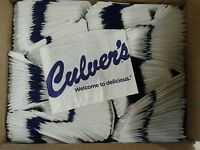 Culver`s Regular 4 x 5.25 French Fry Bag - 2000/pack Boxed Restaurant Supply