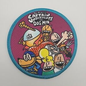 """Captain Underpants 3/"""" Embroidered Iron On Patch"""