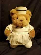 "VINTAGE JERRY ELSNER  NURSE MEDICAL BEAR PLUSH TEDDY OPERATING ROOM 10"""