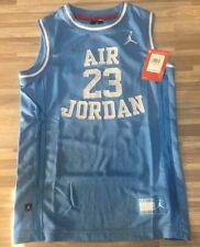 9f76eb80ad2 $45 Nike Air Jordan 23 Basketball Jersey Youth Size MEDIUM Carolina Blue  959947