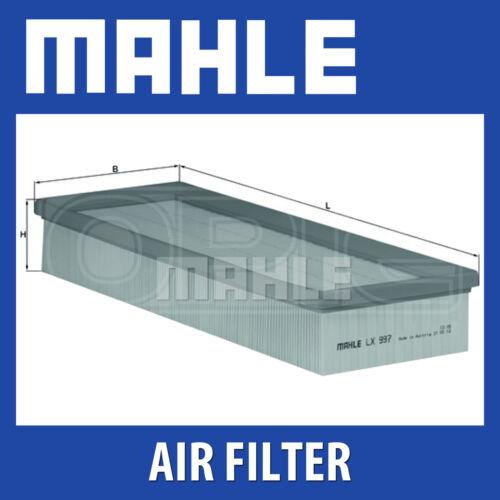 MAHLE Filtro aria lx997-si adatta a SEAT CORDOBA IBIZA-Genuine PART