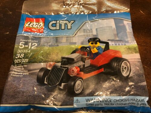 Lego City 30354 Hot Rod and action figure 38 pieces NIP