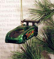 Toyota Mr2 Green Black Sports Car Christmas Ornament Xmas