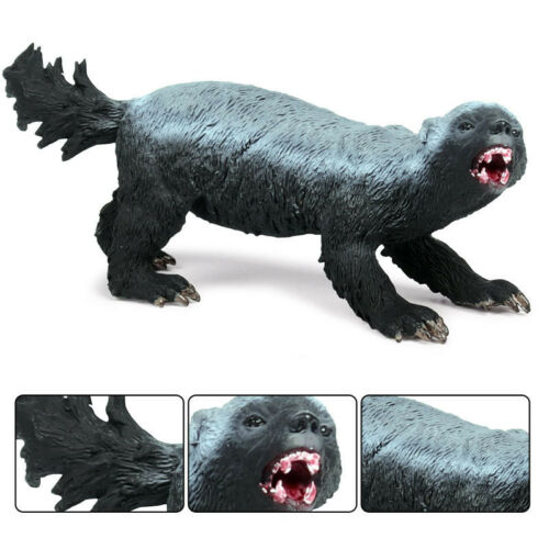 Honey Badger Wild Animal Figure Simulation Model Toy Collector Decor KidGift