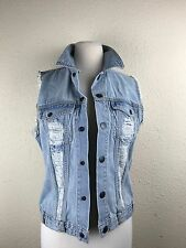 Genuine Volcom brand Jean sleeveless women's vest SZ/1