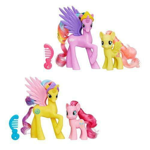 My Little Pony Princess Pack Set Princess Gold Lily Pinkie Pie And Princess Sterling Fluttershy For Sale Online Ebay
