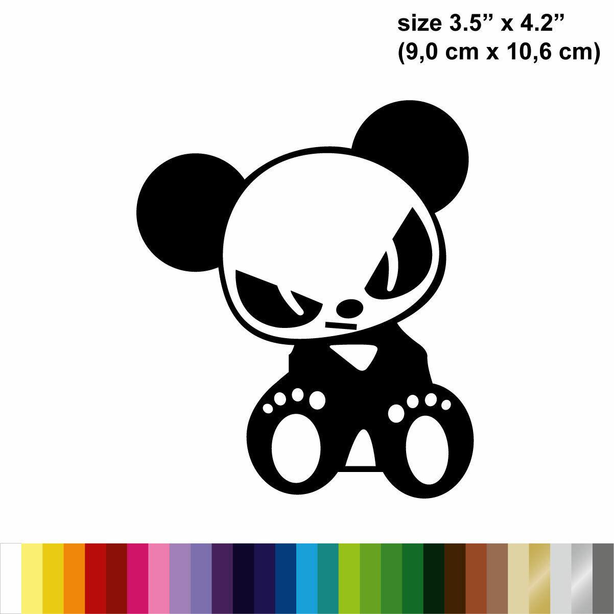 Buy 5 Get 10 Buy 3 Get 5 Panda Animal Car Vinyl Decal Sticker Buy 2 Get 3