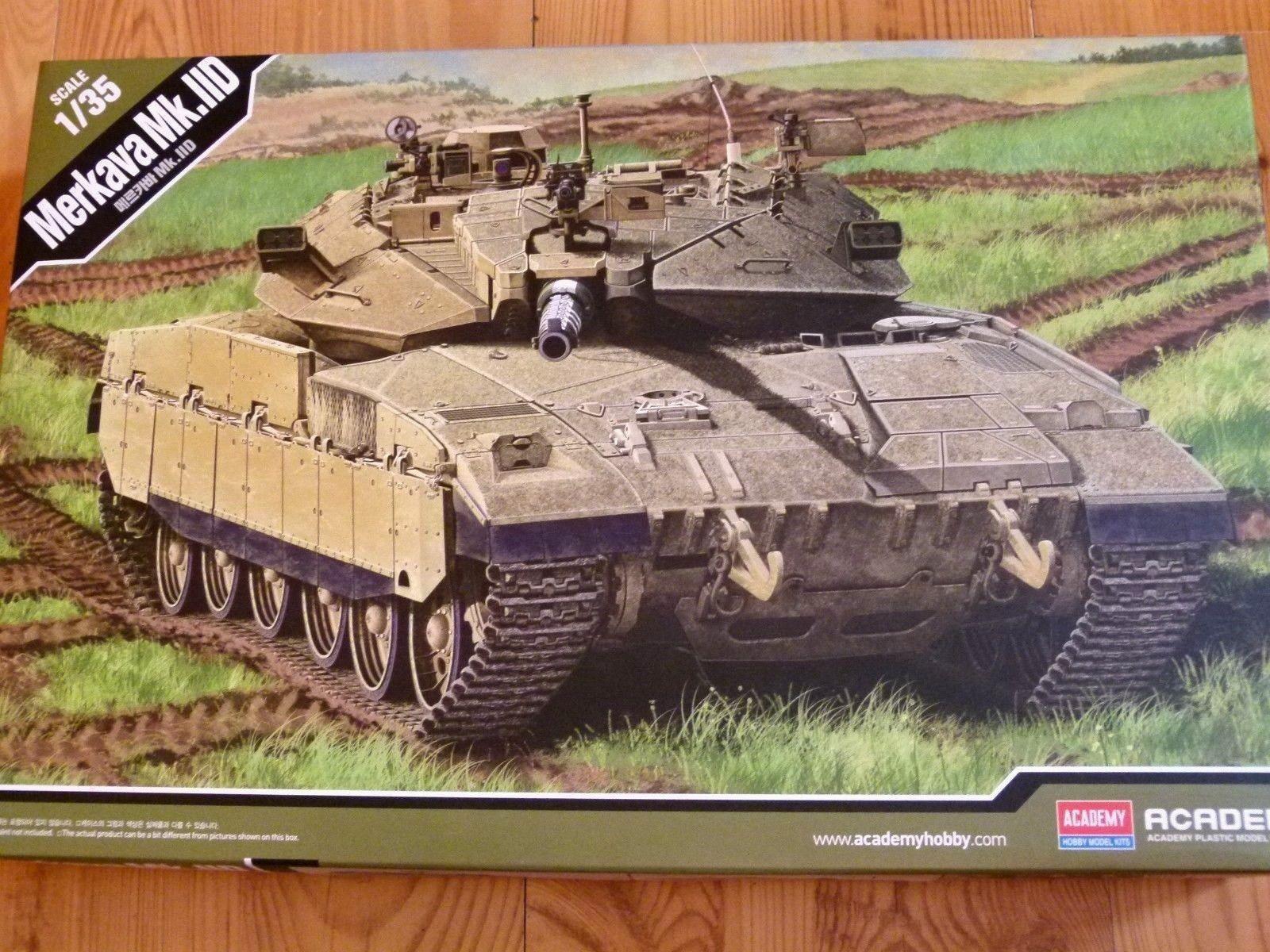 Academy 1 35 Merkava Mk.IID Tank Model Kit