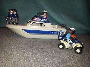 Playmobil Polizei Boot 3190 Polizei Quad 3655 - Heiligenhaus, Deutschland - Playmobil Polizei Boot 3190 Polizei Quad 3655 - Heiligenhaus, Deutschland