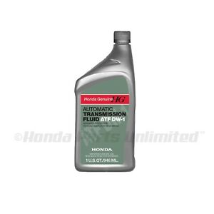 Image Is Loading 1 Qt Genuine Honda Dw Atf Z1