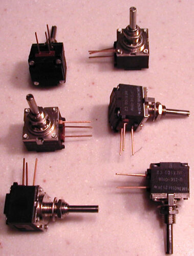 25K A-B MODPOT Potentiometer 1K 50K you pick mix//match 3 total NOS 10K 5K