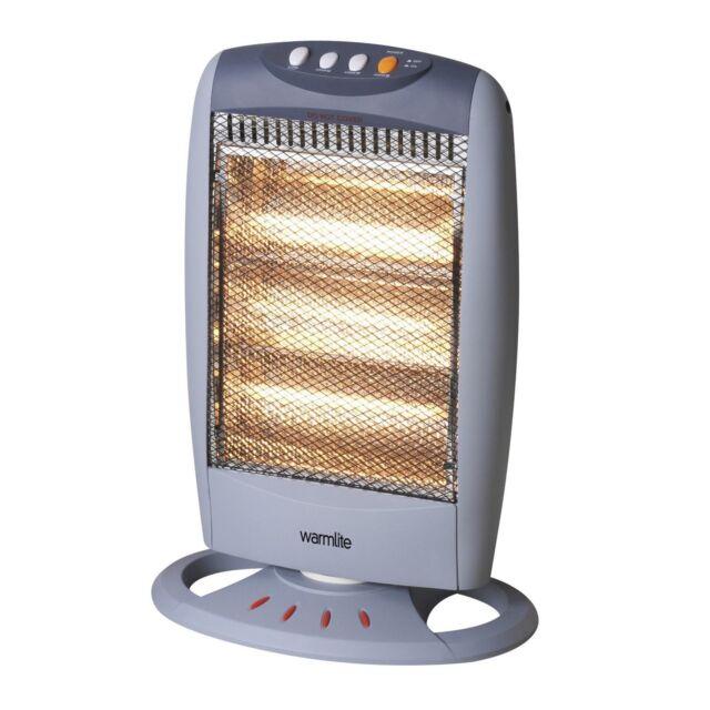 1200W Oscillating Halogen Heater|TJHughes