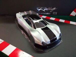 1 10 Mercedes Clk Rc Car Shell Body 200mm Associated Tamiya Losi