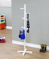 Frenchi Home Furnishing Kids Coat Rack, White, New, Free Shipping