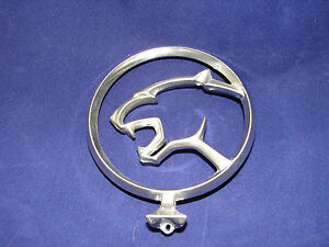 Image Is Loading Mercury Cougar Hood Ornament Rare Badge Antique Old