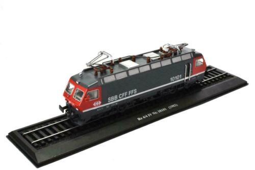 1982 Locomotive del Mondo Re 4//4 IV Nr 1//87 Switzerlan 7153118 Atlas 10101